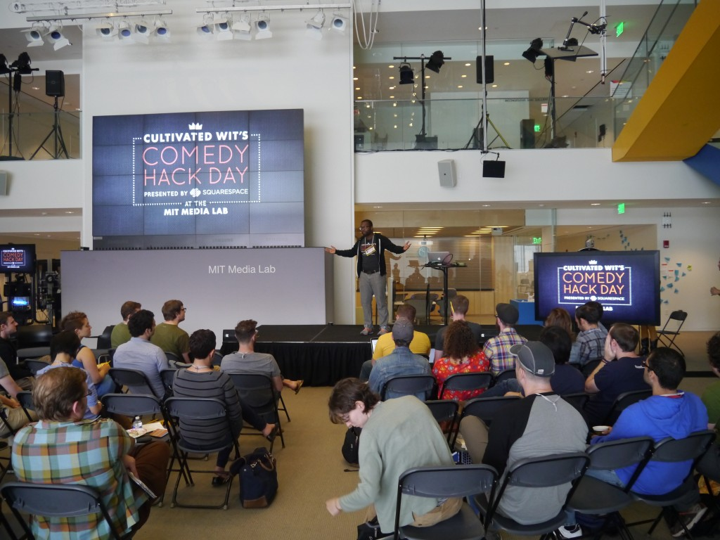 Welcome to Comedy Hack Day
